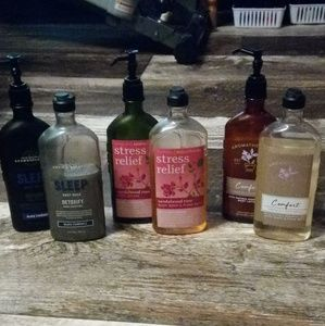 10 BBW Aromatherapy Body Washes & Lotions